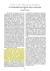 Reproduction of first page of essay, with a highlighted section
